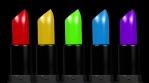 Rainbow lipsticks 4k 04