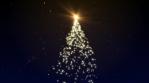 Christmas Motion Background Tree