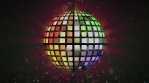 Colorful and Bright Disco Ball