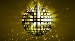 Cool Extra Golden and Bright Disco Ball