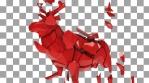 Shattered Red Elk