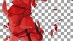 Shattered Red Elk Close Up