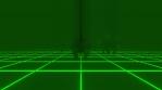 Neon Rhinoceros Stampede