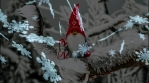 Snow Flakes With Santa Animation