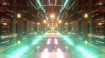 Sci Fi Tunnels Glow Abstract Art 15