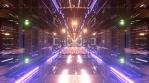 Sci Fi Tunnels Glow Abstract Art 16