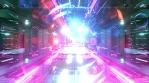 Sci Fi Tunnels Glow Abstract Art 18