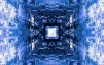 Flicker Cube Tunnel