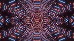 Stardust Mandala Build Segments BLUE RED 4K 06