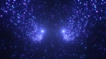 Abstract Star Glow Particle Waves Flowing in Outer Space Universe