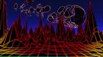 Neon Flight 3 Under Shot Through Planet