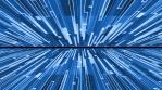 no ending digital movement blue glow modern cool