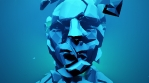 Shattered Futuristic Humanoid Head
