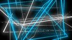 Cosmic Glow Lines Geometry