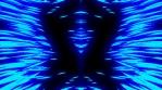 Cosmic Glow Lines Mirror