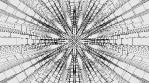 Monochrome Kaleido Mandala 06