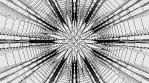 Monochrome Kaleido Mandala 07