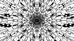 Monochrome Kaleido Mandala NO ALPHA 01