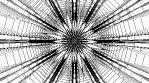 Monochrome Kaleido Mandala NO ALPHA 07
