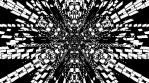 Monochrome Kaleido Mandala NO ALPHA 010
