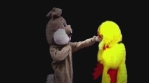 Chicken Fight and Dance