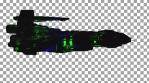 Spaceship side - random light