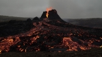 C0085 Volcano wide organge black lava.mov