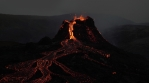 C0099 volcano mountains dusk glowing.mov