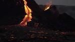 C0131 magma mound flowing down river.mov