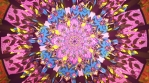 09-Mystic Experience-Ethnic psychedelic tunnel sacred geometry pattern space energy art.mov