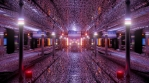 Abstract Sci Fi tunnel design1