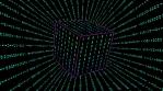 inside cube numbers - random