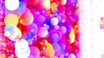 Color Spheres in Blurred Space 4