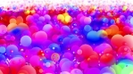 Color Spheres in Blurred Space 6