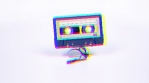 Cassette moving towards the camera