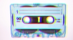 Stop motion of cassette moving and dancing