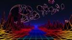 Neon Flight 2 Under Shot Through Planet.mov