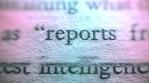 Classified Document Intelligence Report  glitch effect