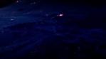 Alien blue world