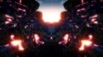 Glow canyon rays revealing
