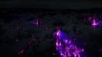 Glow lava blue purple flare