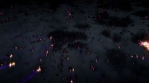 Glow lava snow high rays
