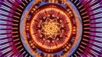 Kaleidoscope infinite 3d bright vj loop animation mushroom trip seamless loop spirit molecule