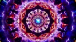 Spiritual awakening loop 3d abstract psychedelic lsd trip mandala kaleidoscope infinite