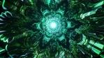 Third eye throat chakra ethnic sacred geometry kaleidoscope infinite 3d patterns seamless vj loop