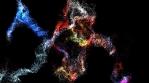VJ Loop Set Particle Storm - Loop 01