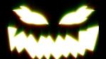 Flickering Halloween mask animation