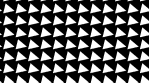 Black and white pattern of rotating pyramids