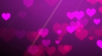 Purple Pink Hearts