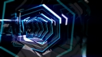 Glass Tron Style Tunnel